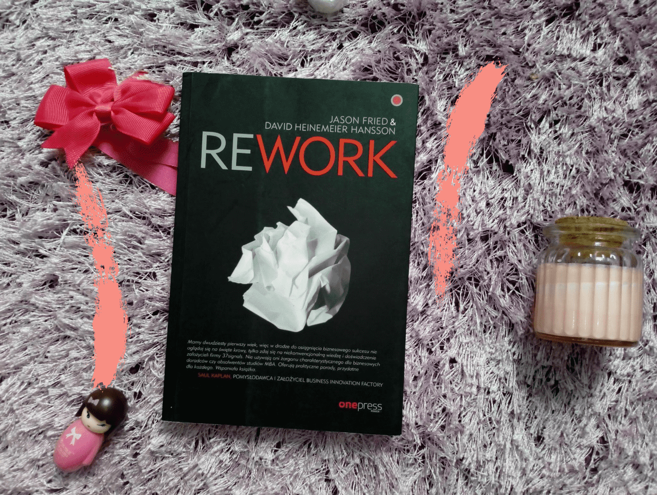 "Jason Fried, David Heinemeier Hansson ""Rework"""